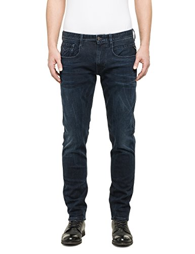 Replay - Anbass, Jeans Da Uomo, Blue Denim 7, W32/L30 (32)