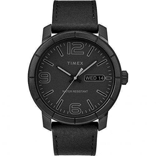 Timex Orologio Analogico Automatico Unisex Adulto con Cinturino in Pelle TW2R64300