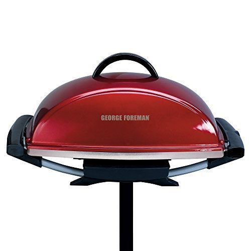 george-foreman-gfo201rx-indoor-outdoor-electric-grill-red-by-george-foreman