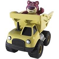 Toy Story–v0863–Figur–Lotso und sein Fahrzeug mit Aufziehmotor