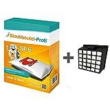 10 Staubbeutel + 1 HEPA-Filter geeignet für Bosch BSG 61831 Relaxx´x Pro Silence Plus von Staubbeutel-Profi®