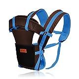 YUNFEILIU Baby Carrier Multifunktionale Tragetasche Atmungsaktiv Verbreitert Schultergurt Blau