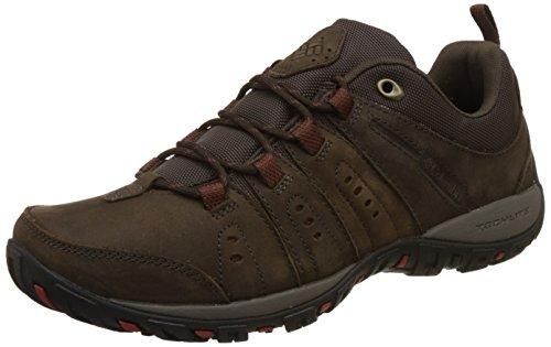 Columbia Herren Sneakers, WOODBURN PLUS II, Braun (Cordovan, Gypsy), Größe: 42 - Gypsy Leder