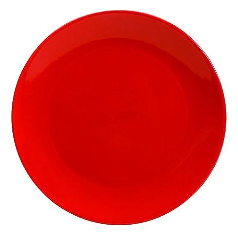 Lot de 6 Assiettes Dessert 20 Ibiza Rouge