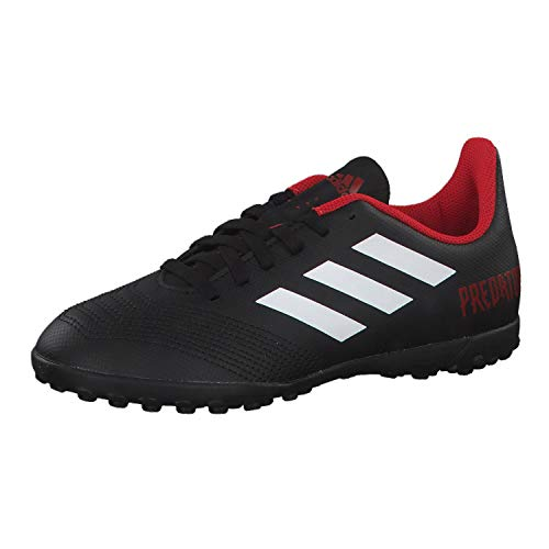 meet 0984b d6786 adidas Unisex-Kinder Predator Tango 18.4 Tf J Fußballschuhe, Schwarz  (Negbás Ftwbla