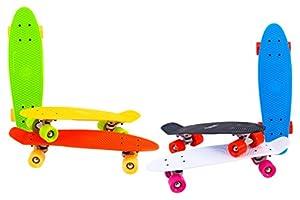 Globo - Skate, color amarillo (37989) , Modelos/colores Surtidos, 1 Unidad