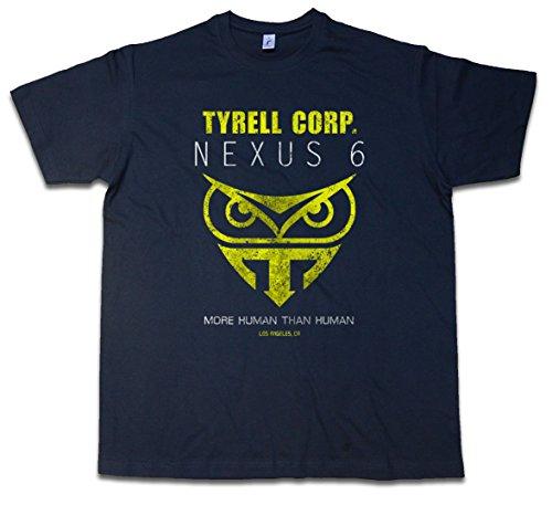 Urban Backwoods Tyrell Corporation Nexus 6 T-Shirt – Blade Replicants Company Replikanten Runner Größen S – 5XL (Blade-herren T-shirt)