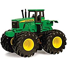 John Deere - Tractor Monster vibración con luces y sonidos (TOMY 30692932)