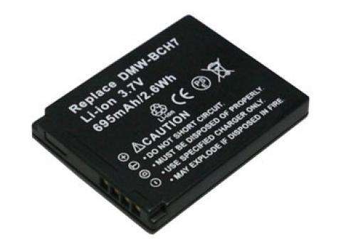 PowerSmart® 695mAh Akku für Panasonic Lumix DMC-FP1,DMC-FP2,DMC-FP3, DMC-FT10, DMC-TS10 Serien DMW-BCH7, DMW-BCH7E, DMW-BCH7GK Fp2-serie