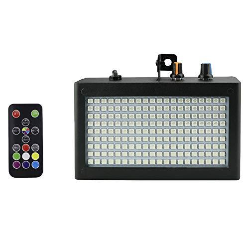 be Blitz Licht Tragbare 35 Watt Rgb Remote Ton Steuerung Strobe Geschwindigkeit Einstellbar für Bühne Disco Bar Party Club (Eu Stecker) ()