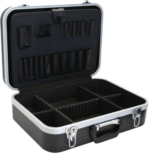 Price comparison product image InLine® 43017 °F Empty Lockable Tool Box ABS Black