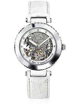Pierre Lannier 303d690–Week End Automatische Damen-Armbanduhr–Automatische Analog–Ziffernblatt Perlmutt...
