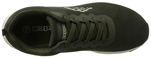 Kappa Damen Classy Sneaker Grün (3143 Army/Offwhite)