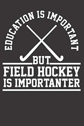 Zoom IMG-2 field hockey player notebook journal