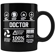 Funny Sarcasm Mug | Present for Doctors | Great Gift for Acrobat Friend Colleague Co-Worker |Gift for Acrobat Humor Black Coffee Mug by PosterGuy