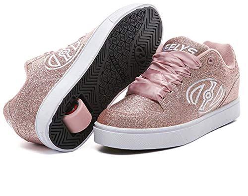Heelys Motion Plus Niñas (Purpurina Rosa), Color Rosa, Talla (38 EU, Pink)