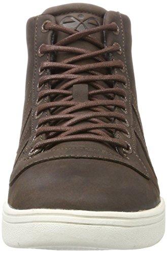 Hummel Unisex Adulto Hml Stadil Inverno Alta Alta Sneaker Marrone (castagna)