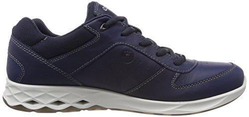 Ecco Wayfly, Chaussures de Randonnée Basses Homme Noir (True Navy)