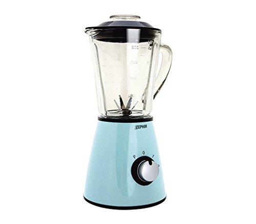 ZHC489 Licuadora eléctrica vintage ZEPHIR jarra de vidrio 1 litro 500 vatios - Crema