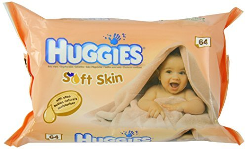 Huggies Soft Skin Baby Wipes x 64 by Huggies