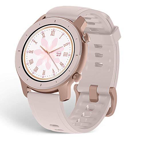 Oferta de Amazfit GTR A1910 42 Cherry Bl - Smartwatch (42 mm), color rosa