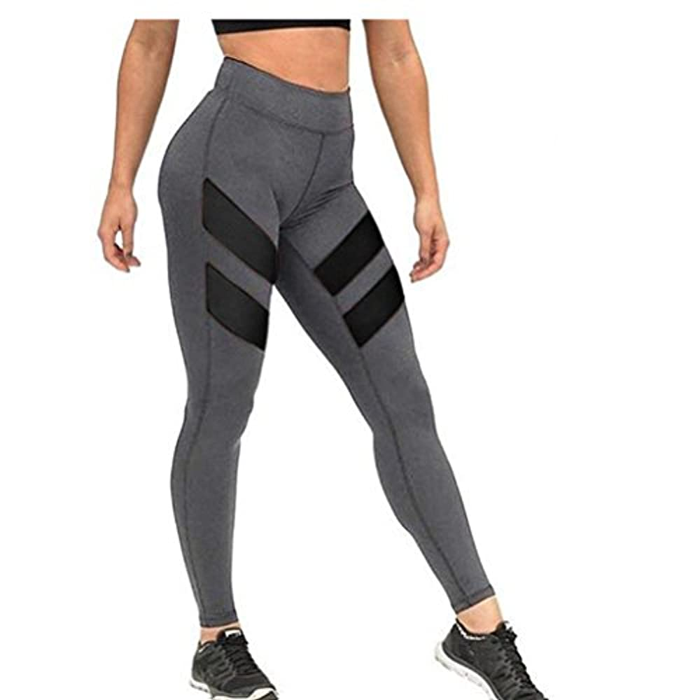 WORK OUT Leggings Leggins Pants Sport Fitness Yoga Jogging Tight Hosen Damen XL