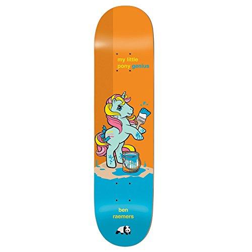 Enjoi My Little Pony 3rd Imp Light 8 Inch Skateboard Deck 8 inch Orange