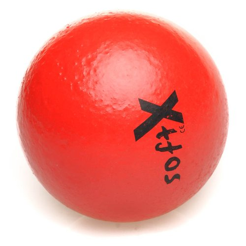 softX Ball mit Coating 8 cm rot Schaumstoff Ball Kinder Spielball Methodik