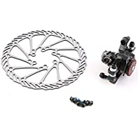 Qewmsg BB7 MTB Bike Brakes Disco Mechanical Caliper Wheel Wheel + 160mm Rotor
