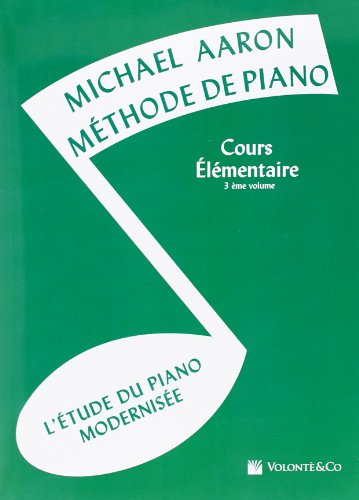 Méthode de Piano - Cours Elementaire Volume 3