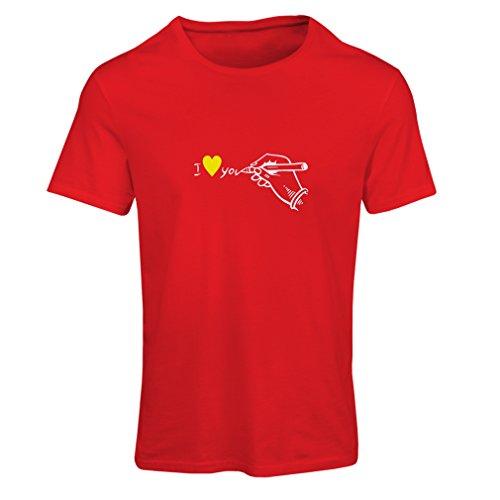 lepnime-camiseta-para-mujer-rojo-rosso-bianco-medium