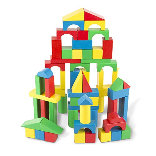 Set 75 costruzioni in legno per bambini Marionette Wooden Toys
