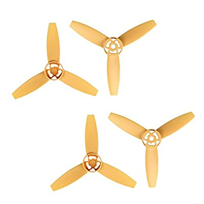 i.VALUX Main 3-Blades Propeller Rotor Props Replacement for Parrot Bebop Drone 3.0 RC Quadcopter, Yellow from Happrint