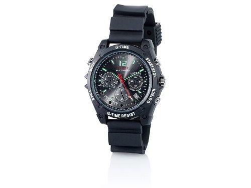 Spy Aufnahme Armbanduhr (OctaCam Kamera-Uhr mit Full HD, Infrarot-Nachtsicht und 8GB Speicher)