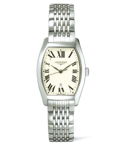 Longines Evidenza L2.155.4.71.6 - Reloj para Mujeres, Correa de Acero Inoxidable Color Plateado