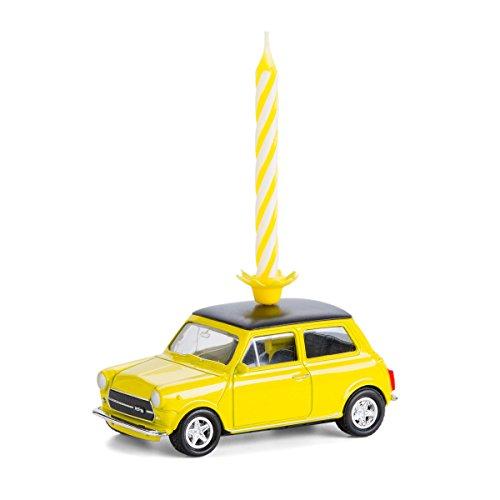 corpus delicti :: Mini Cooper Classic (gelb) mit Geburtstagskerze für Mini-Fans (20.3CKg)