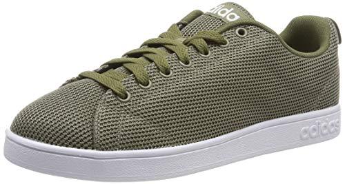 adidas Vs Advantage Cl Scarpe da Tennis Uomo, Verde Trace Cargo/Ftwr White/Raw Khaki, 46 EU