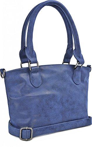 FRITZI AUS PREUSSEN, Damen Handtaschen, Schultertaschen, Henkeltaschen, 31 x 19,5 x 11,5 cm (B x H x T) Blau