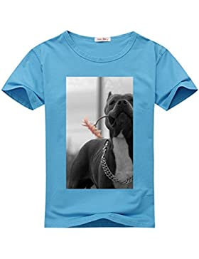 HGLee Printed Personalized Custom Pitbull Women's T-Shirt Tshirt Tee