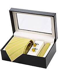 Sir Michele Designer Tie Hanky Cufflink Set
