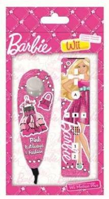 Preisvergleich Produktbild Indeca Kit Wii Remote+Nunchuck CT129 Barbie