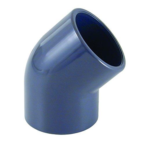 PVC - U 45° Winkel Muffe 40 mm PN16