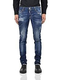 Dsquared2 Slim Jean United Uomo - Taglia  46 - Colore  Blu - Nuovo 473874c6c8e0