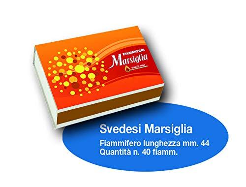 Scopri offerta per Fiammiferi Svedesi Marsiglia - 1 Box da 100 scatoline