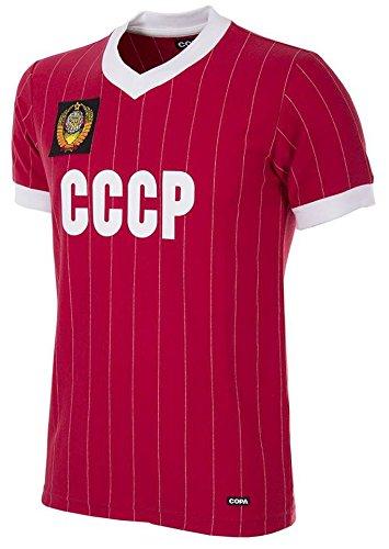 Copa CCCP Russland Retro Trikot WM 1982 rot rot, L