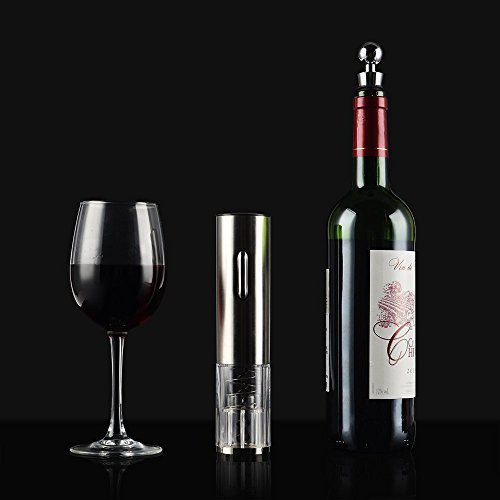 41qtt9QdlwL. SS500  - Electric Wine Opener , LOUISWARE Automatic Wine Bottle Opener With Foil Cutter and USB Charging Cable