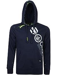 Crosshatch Mens Designer Fleece Lined Hoodies