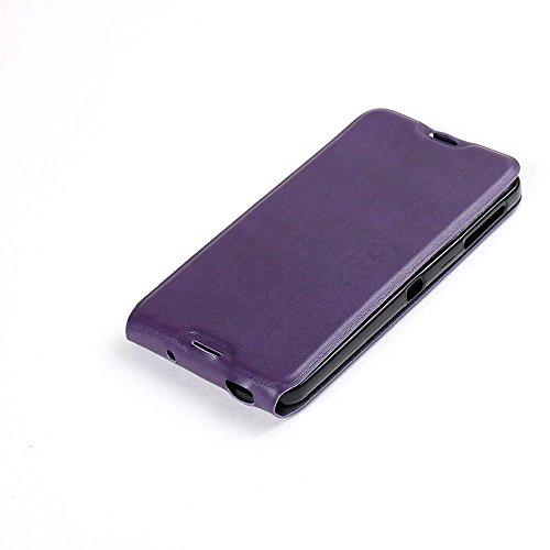 Manyip Téléphone Coque - PU Cuir rabat Wallet Housse [Porte-cartes] multi-Usage Case Coque pour Alcatel One Touch iDOL 4S Classique Mode affaires Style(JFC4-5) B