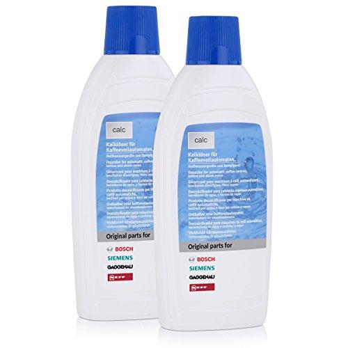Bosch/Siemens 311680 Kalklöser für Vollautomaten 1 Liter (2 Stück a 500ml)