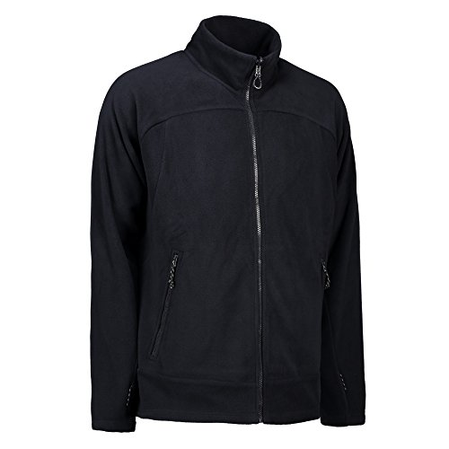ID herren Zip N Mix Aktiv Fleece Jacke Königsblau